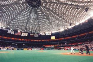 the astrodome the first domed stadium essay The astrodome was nicknamed the eighth wonder of the world when it first opened its doors on april 12, 1965 the harris county domed stadium, its original name in 1965, was the world's first large indoor venue (45,000 seats spread over five seating levels) for any major league field sport.